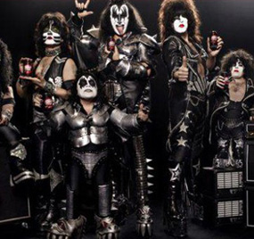 Kiss midget cover band